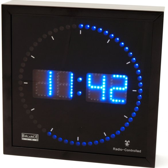 Balance Time Blue LED