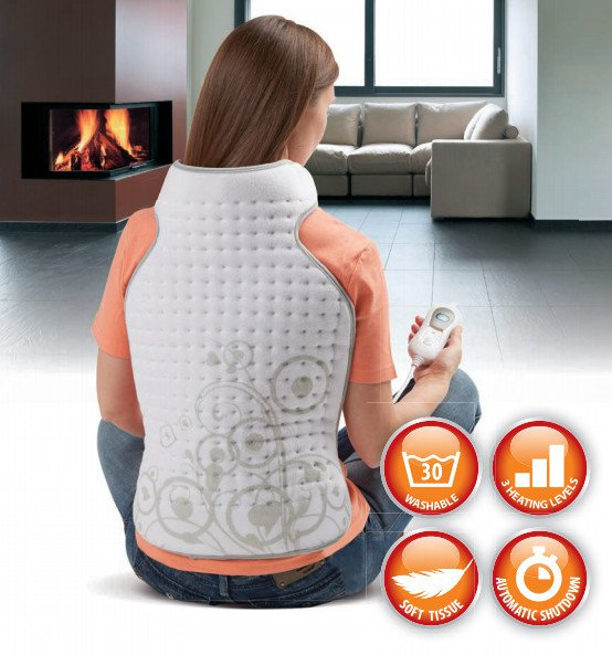 Lanaform Heating Blanket Back