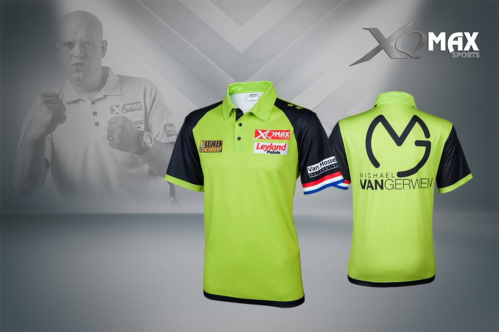 XQ Max Darts Michael van Gerwen Competition Shirt Replica