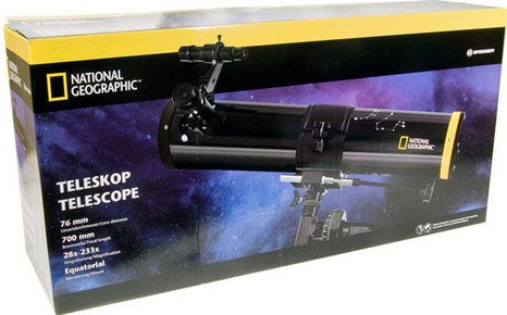 National Geographic 76/700 spiegeltelescoop EQ