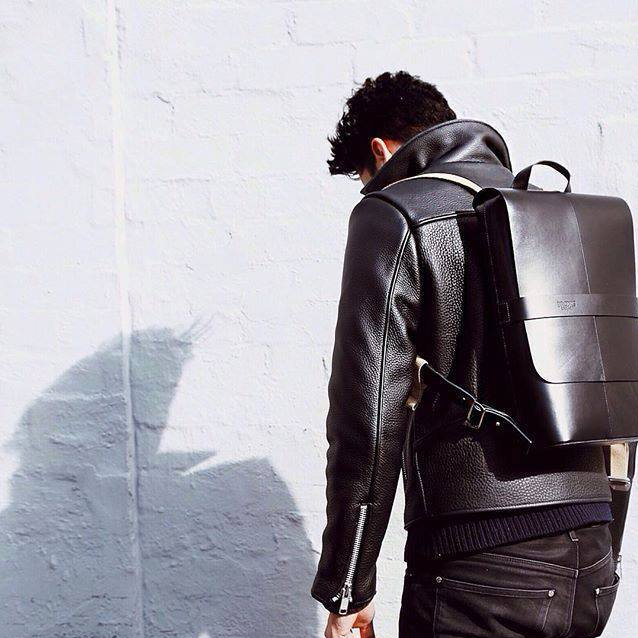 Brooks Piccadilly leather backpack