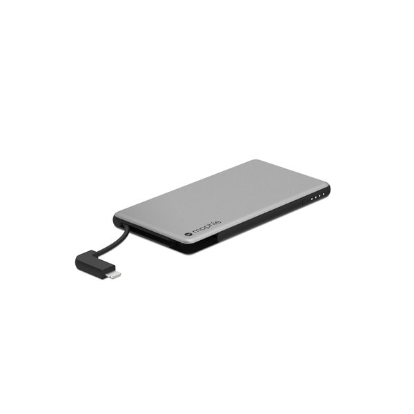 Mophie Powerstation Plus Hold Force 4.000mAh Silver