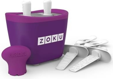 Zoku Quick Pop Maker Duo paars ijsmaker