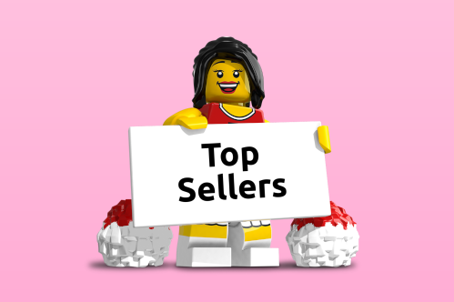 Populairste LEGO