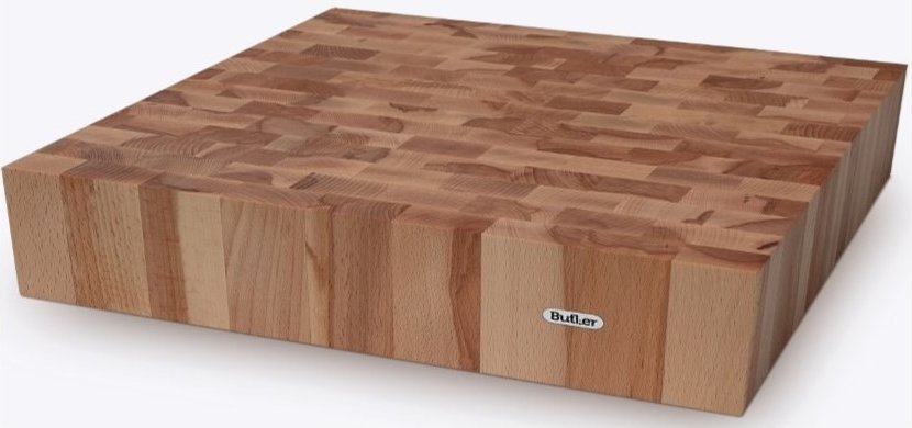 Butler Chopping block BEECH 40x40cm