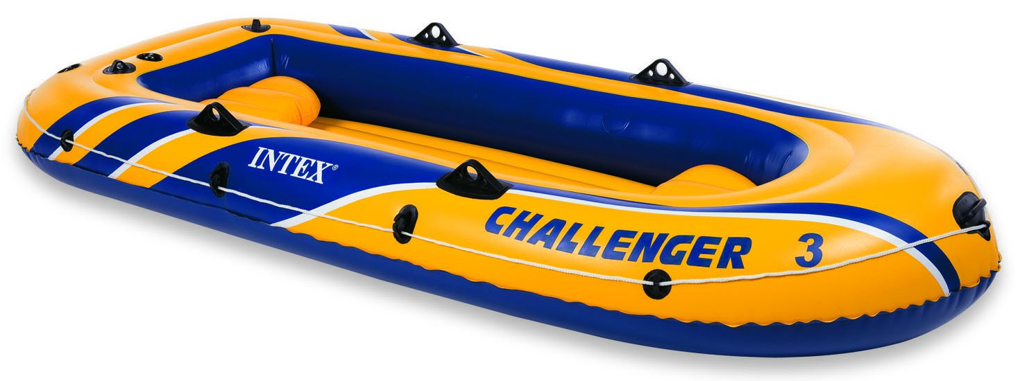 Intex Challenger 3 opblaasboot-set