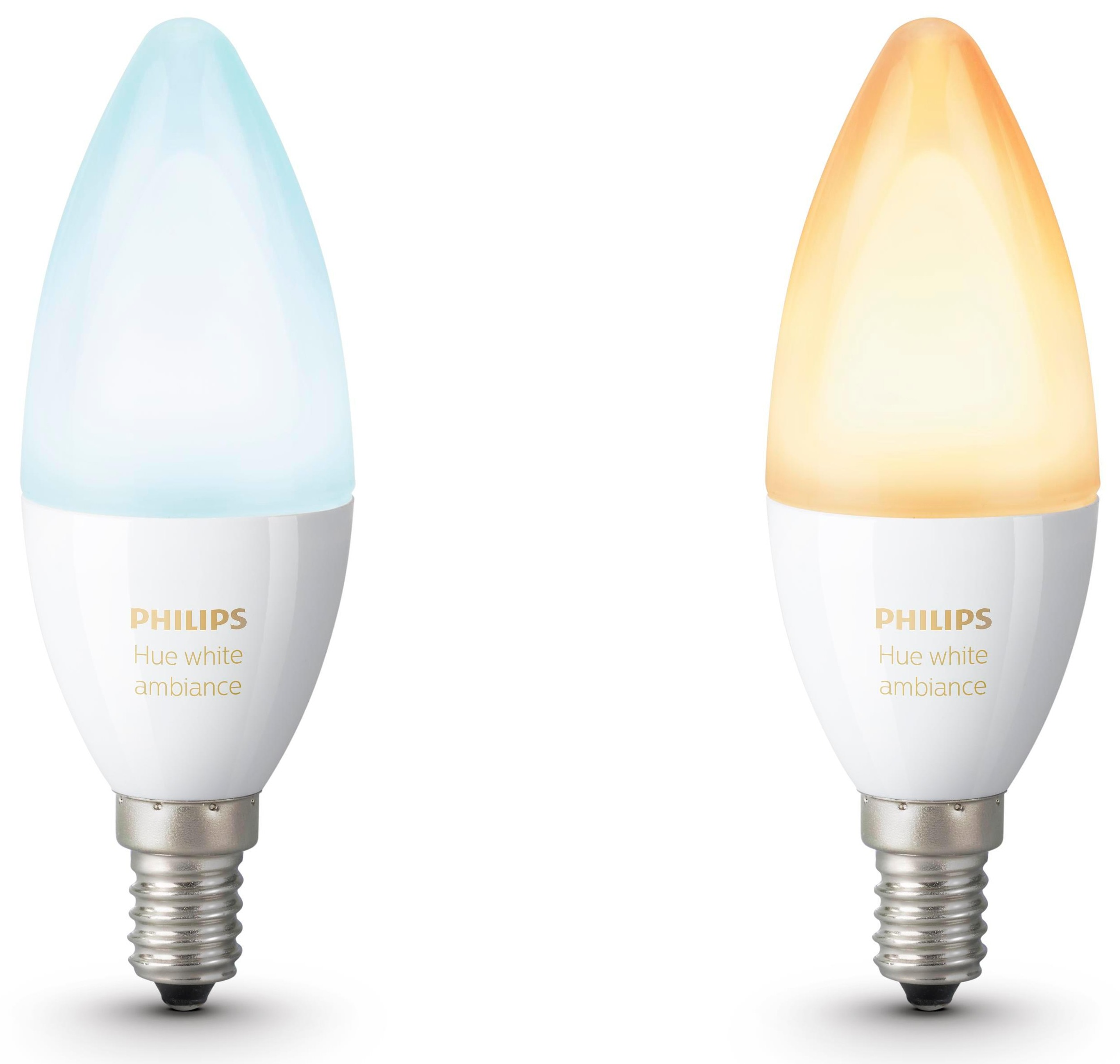 Philips Hue White Ambiance 6W E14 duopack