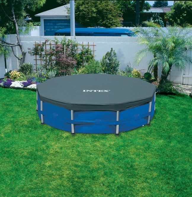 Intex afdekzeil metal frame 366 kopen frank for Intex mini frame pool afdekzeil