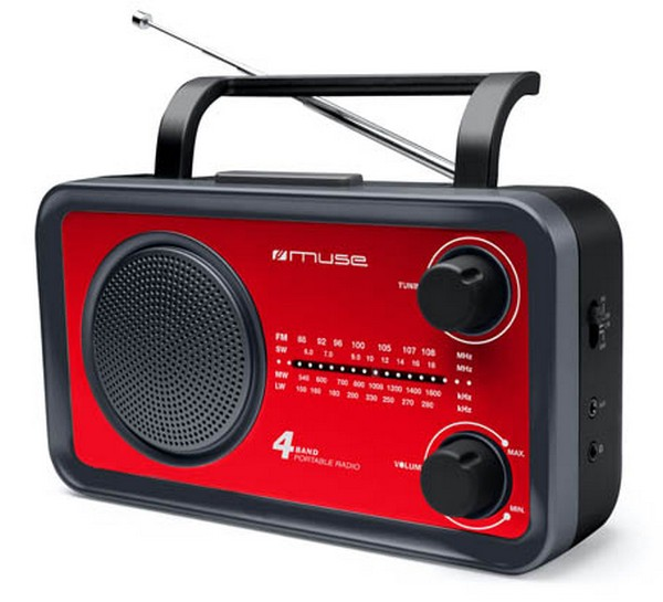 Muse M-05RED radio