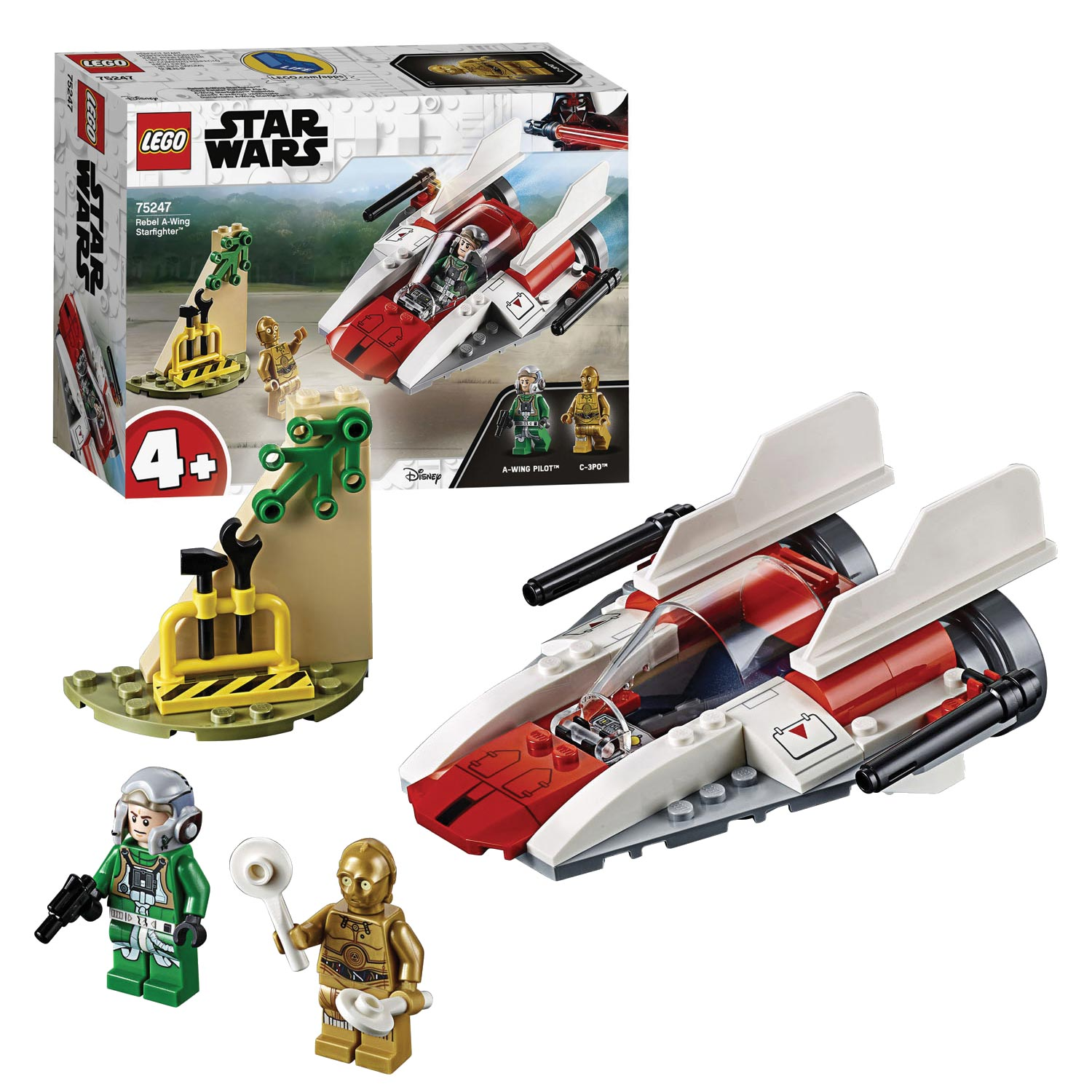LEGO Star Wars A-Wing Starfighter - 75247