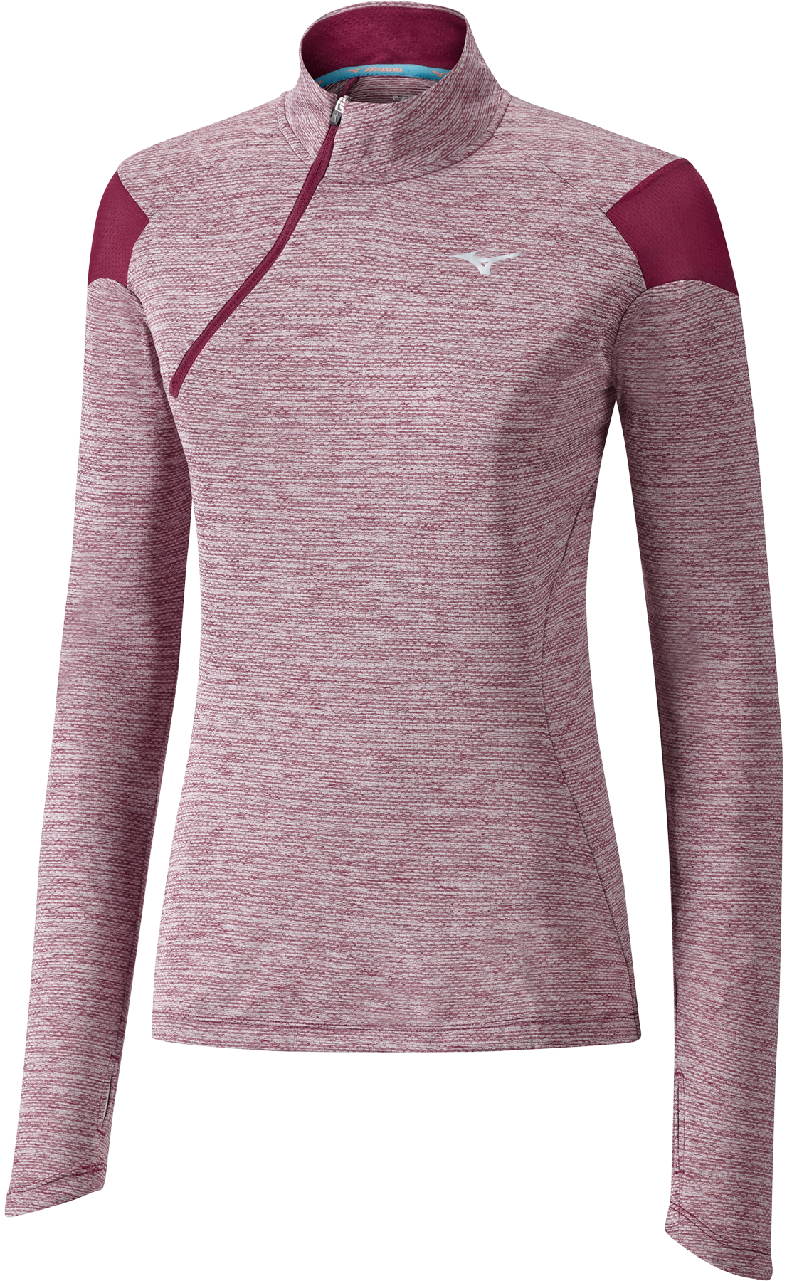 Mizuno Alpha Long Sleeve Half-Zip dames