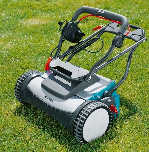 Gardena 380 EC electric reel mower on checkfrank co uk | Frank