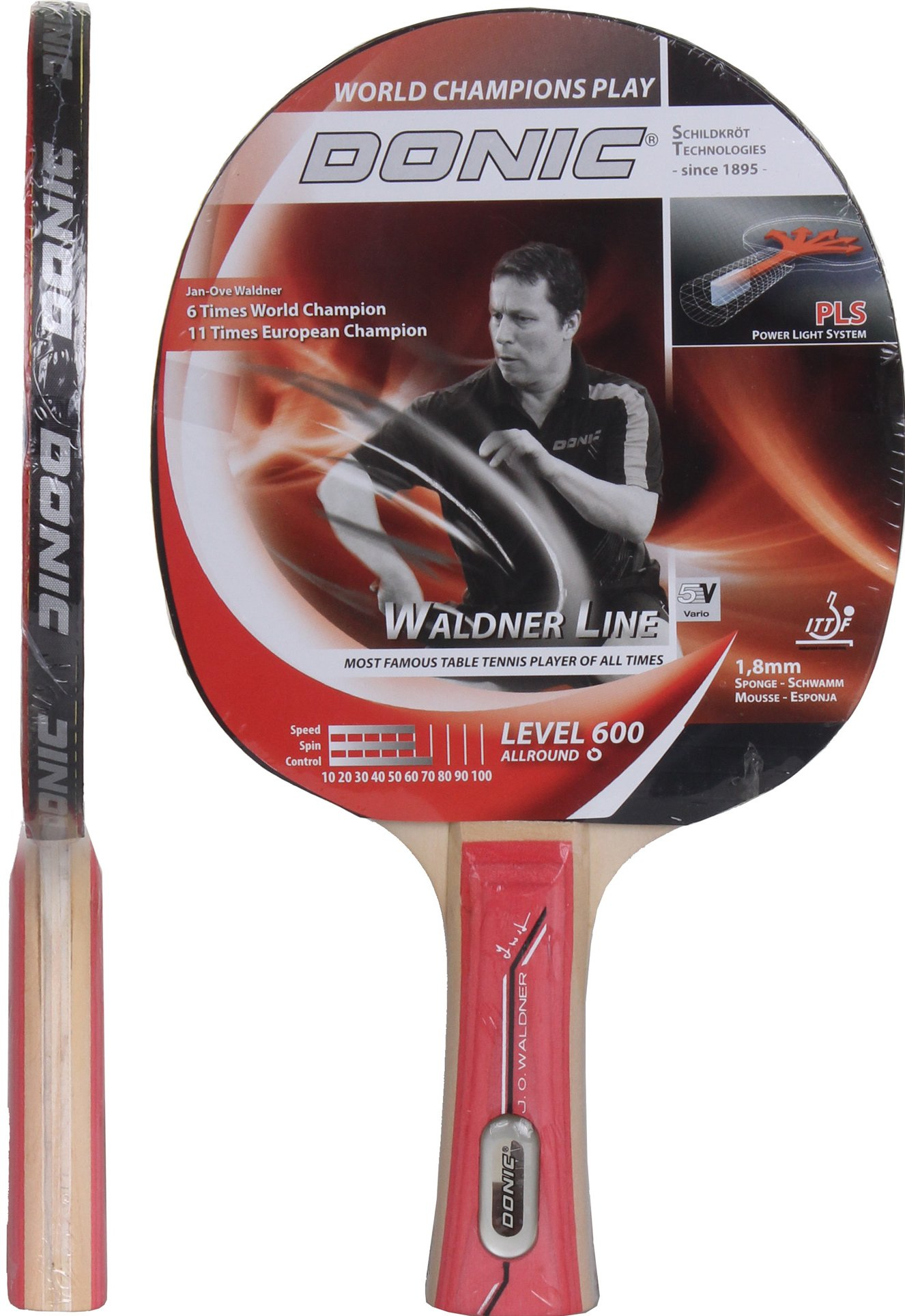 Want To Buy Donic Jo Waldner Line 600 Table Tennis Bat