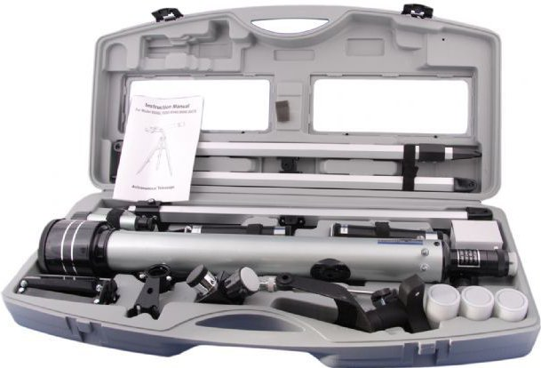 Byomic Beginners Refractor 60/700 + suitcase