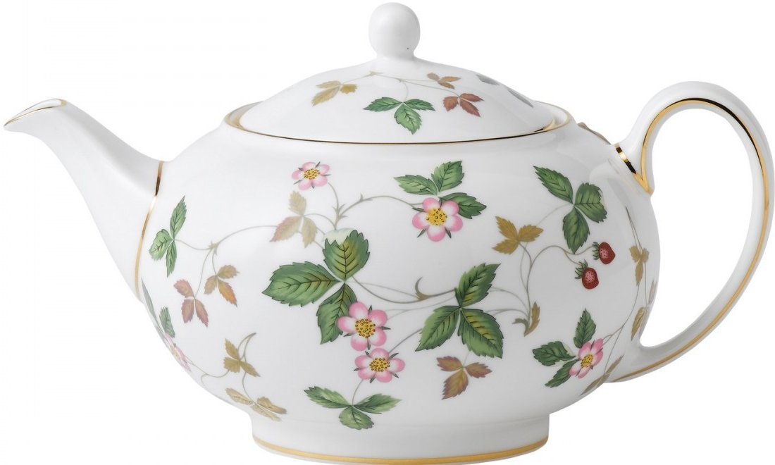 Wedgwood Wild Strawberry Teapot Small
