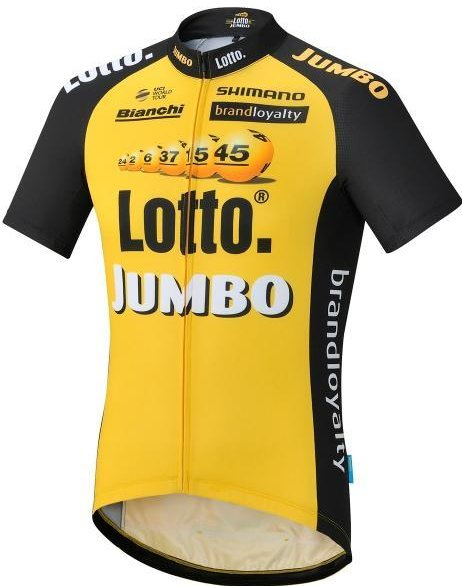 Shimano Team Lotto Jumbo Replica shirt 2017