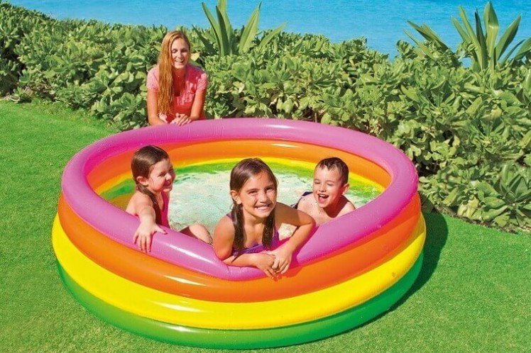 Intex Sunset Glow swimming pool Ø 168 cm