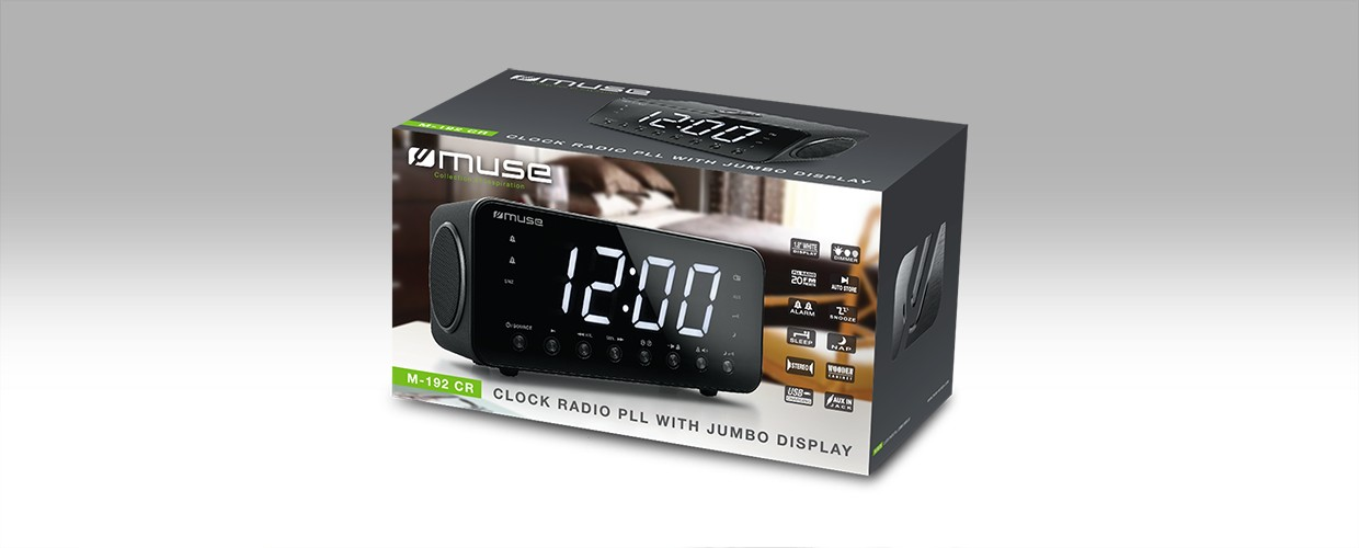 Muse M-192CR wekkerradio