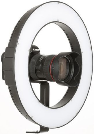 Falcon Eyes Bi-Color LED Ringlamp Dimbaar DVR-384DVC