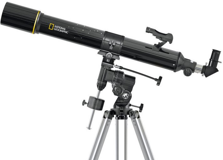 National Geographic 90/900 refractor telescope