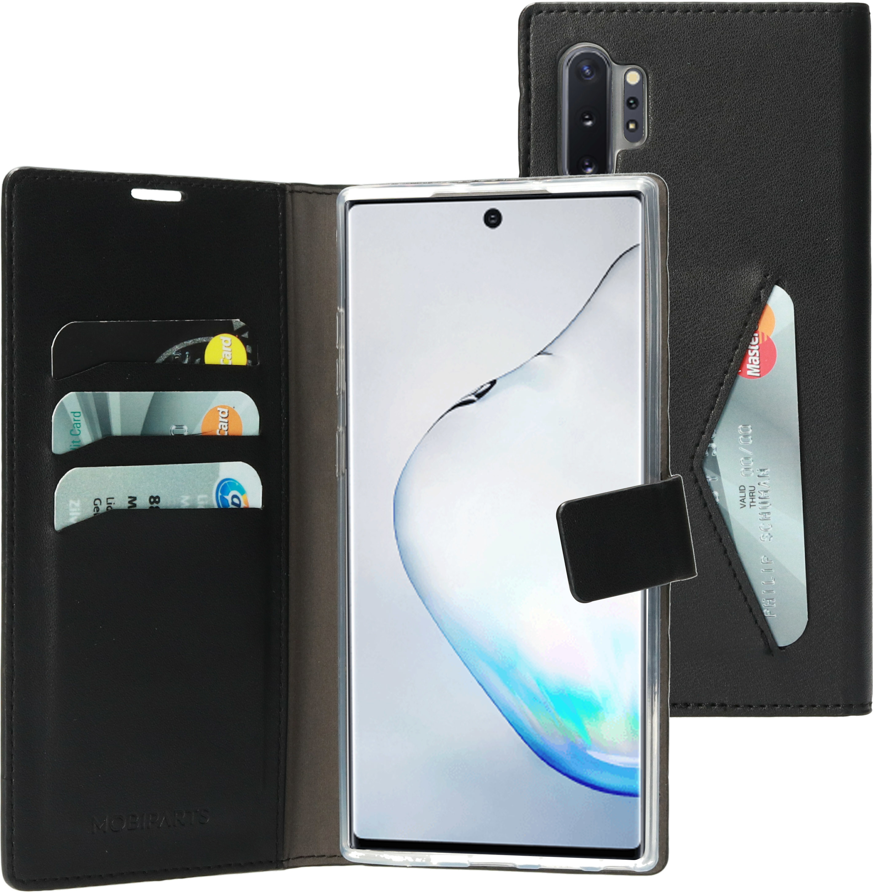 Mobiparts Classic Wallet Case - Samsung Galaxy Note 10 Plus