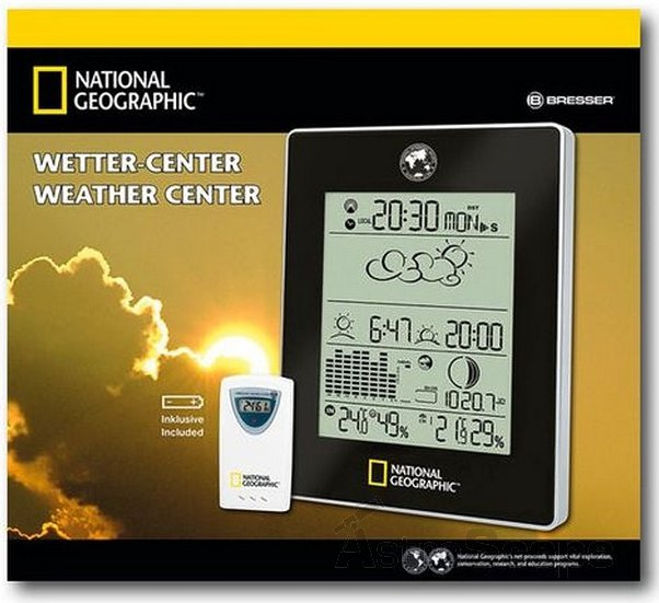 National Geographic weather center