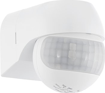 Image of Eglo Detect Me 1 wall lamp with sensor (Colour: white)
