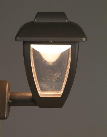 Luxform Luxembourg muurlamp up