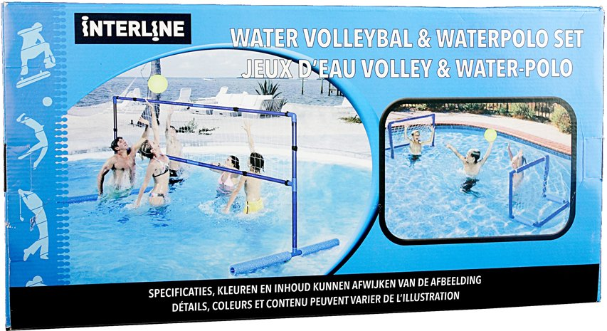 Interline watervolleybal en waterpolo set
