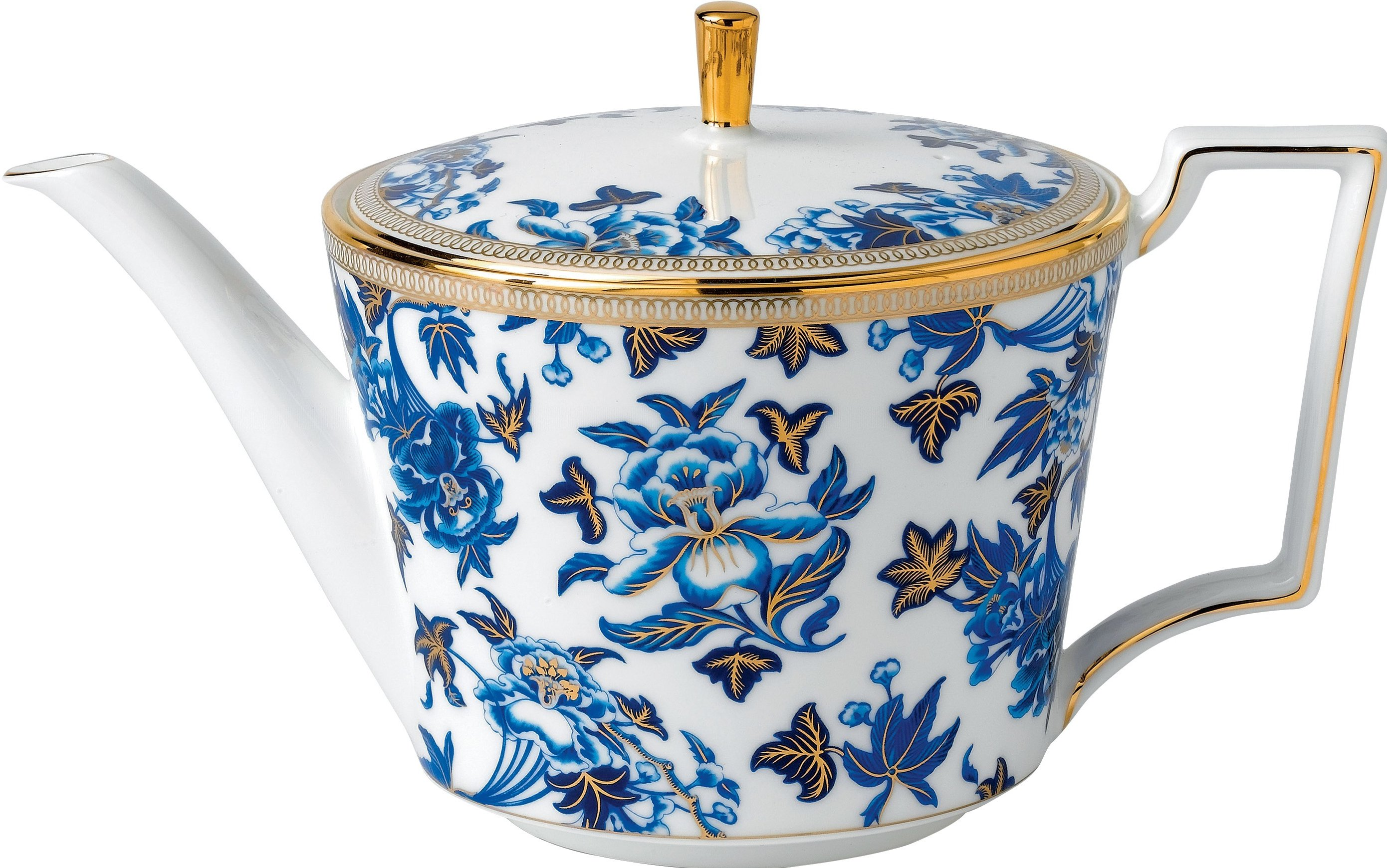 Wedgwood Hibiscus theepot