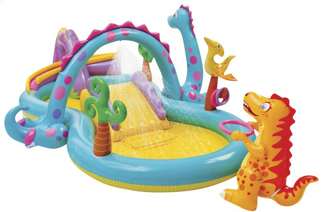 Intex Dinoland playcentre opblaaszwembad