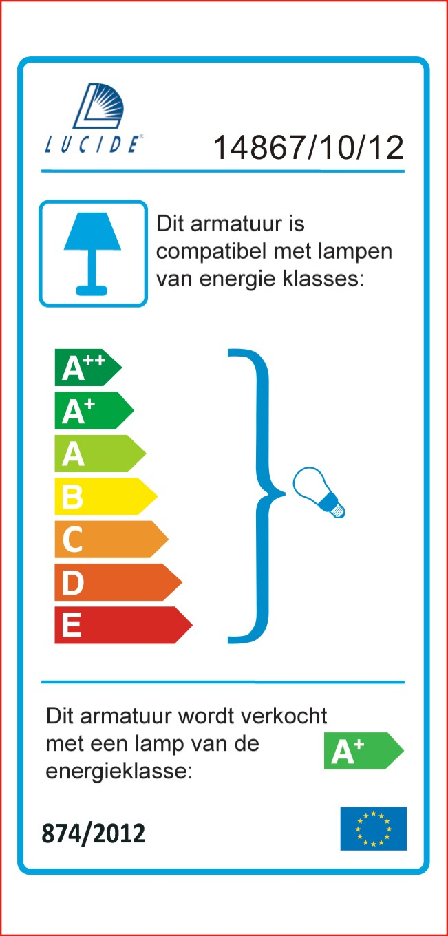Lucide - ARNE-LED - Sokkellamp - 1486710