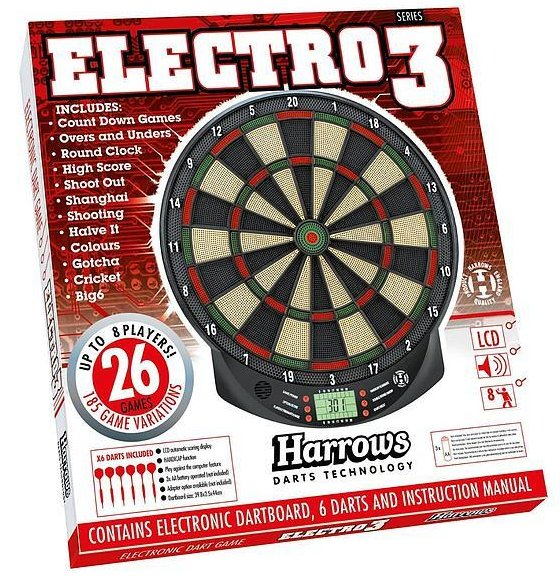 Harrows Electro Series 3 Dart Game