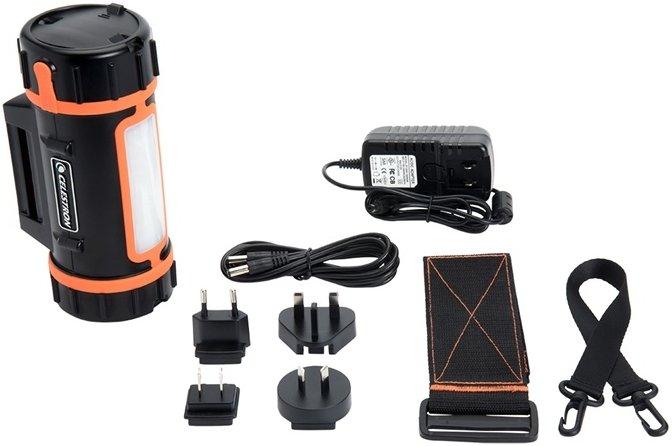 Celestron Lithium powerbank set met LED