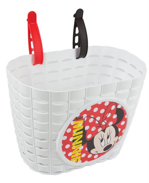 Widek Minnie Mouse fietsmand wit
