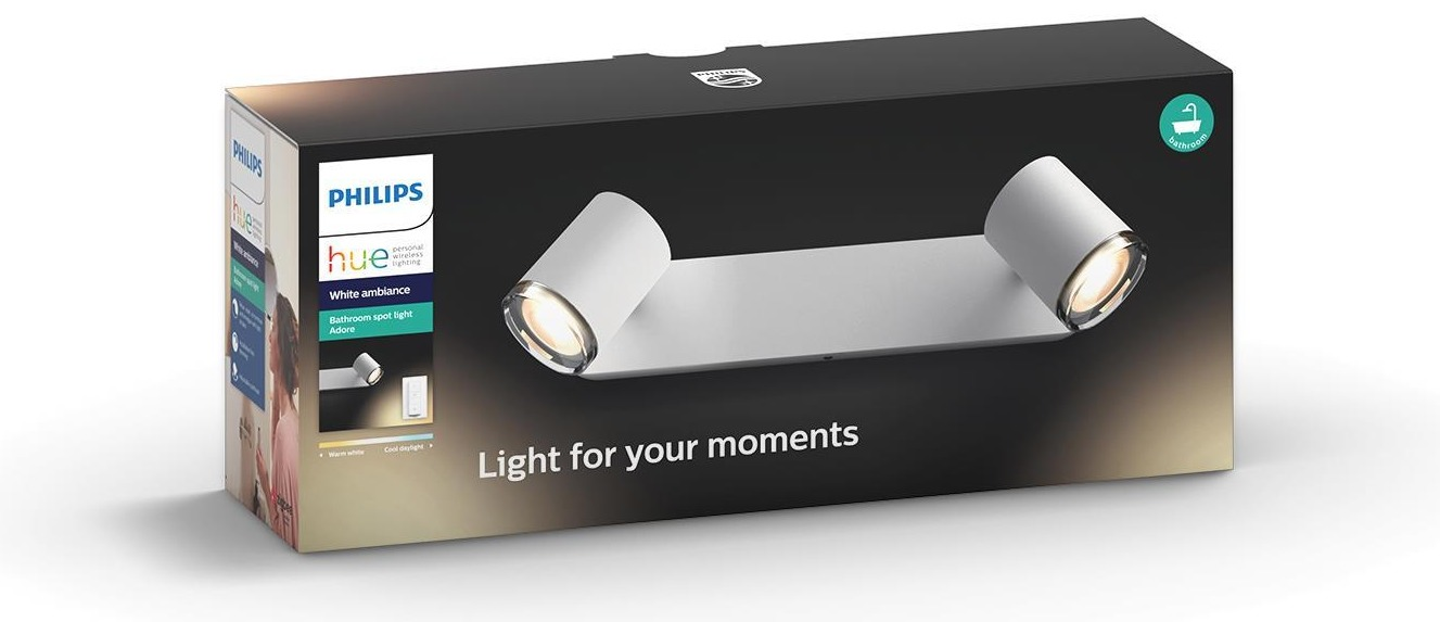 Philips Hue Adore Duo spotlamp