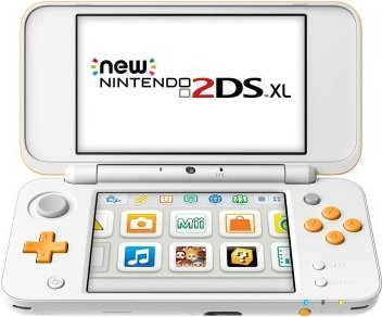 New Nintendo 2DS XL console