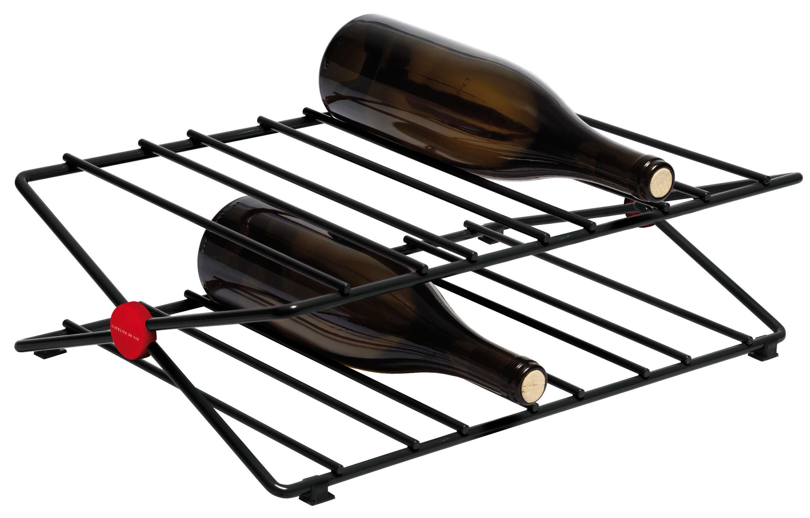 l 39 atelier du vin city rack metal wijnrek kopen frank. Black Bedroom Furniture Sets. Home Design Ideas